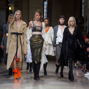 "Hong Kong Based Fashion Designer Brand: ""id"" on Paris Runway SS2017"