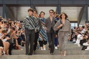 "Issey Miyake Men ""Through the Desert"" SS2018"